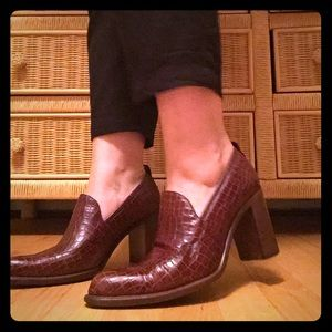 RARE Vintage Italian Designer Heels 👠🇮🇹💁🏻♀️